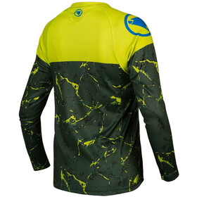 Endura MT500 LTD Camiseta Manga Larga Niños, poison green